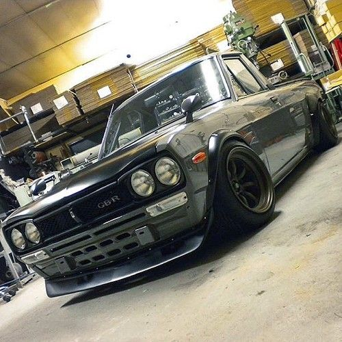 Datsun Truck with Nissan Hakosuka Skyline front end  https://www.instagram.com/jdmundergroundofficial/  https://www.facebook.com/JDMUndergroundOfficial/  http://jdmundergroundofficial.tumblr.com/  Follow JDM Underground on Facebook, Instagram, and Tumbl the place for JDM pics, vids, memes & More