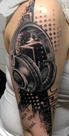Music Sleeve Tattoo