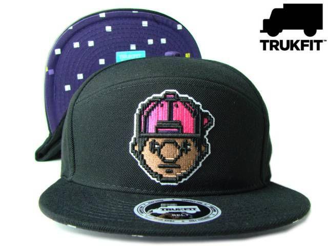 """【トラックフィット】【TRUKFIT】SNAPBACK """"DIGITAL TOMMY"""" ブラック フリーサイズ USモデル【TRUKFIT】【lil wayne】【newera】【帽子】【リル・ウェイン】【YUNG MONEY】【黒】【black】【cap】【CASH MONEY】【あす楽】【楽天市場】"""