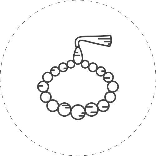 Tillverka egna smycken i form av armband, örhängen, halsband och ringar. Pyssla ihop och bär själv – eller ge bort; ett hett presenttips!