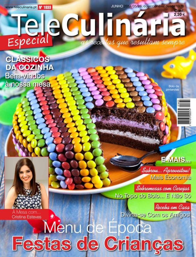 TeleCulinária Especial Portuguese Magazine - Buy, Subscribe, Download and Read TeleCulinária Especial on your iPad, iPhone, iPod Touch, Android and on the web only through Magzter