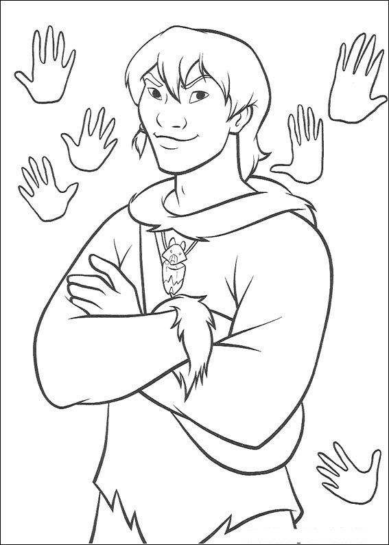 Brother Bear Coloring Book Pages