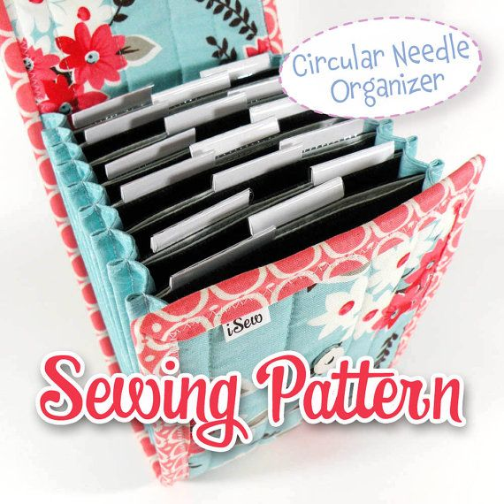 Interchangeable Knitting Needle Case Sewing Pattern : 1000+ images about Knitting Needle Storage on Pinterest Interchangeable Kni...