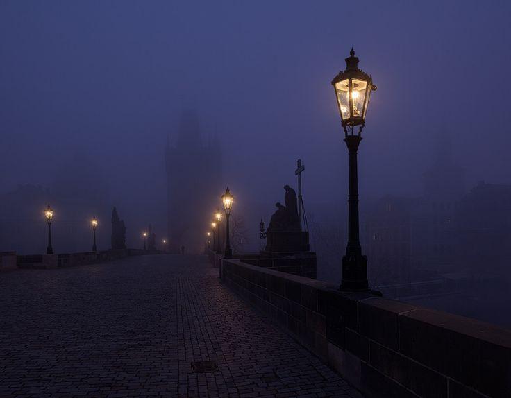 Charles Bridge by Night by Michal Vitásek on 500px