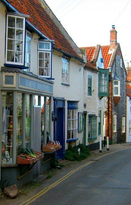 Blakeney, Norfolk, England. Lovely place to wander around. The Moorings is a great restaurant if you like fresh caught fish dishes.