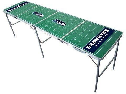 Wild Sports NFL Seattle Seahawks Tailgate Table - 2'x8'