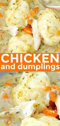 Simply the BEST recipe for Homemade Chicken and Dumplings. Hundreds of positive …