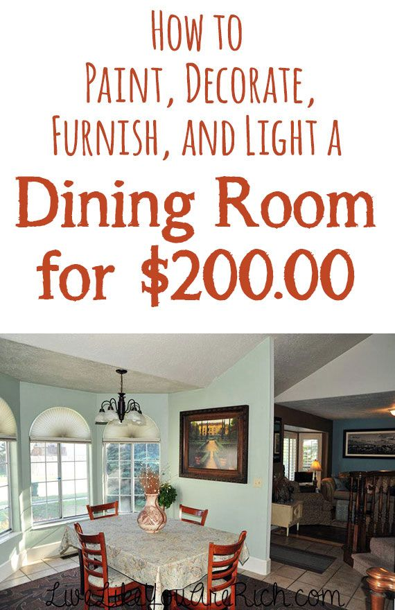 How To Decorate Dining Room Image Review