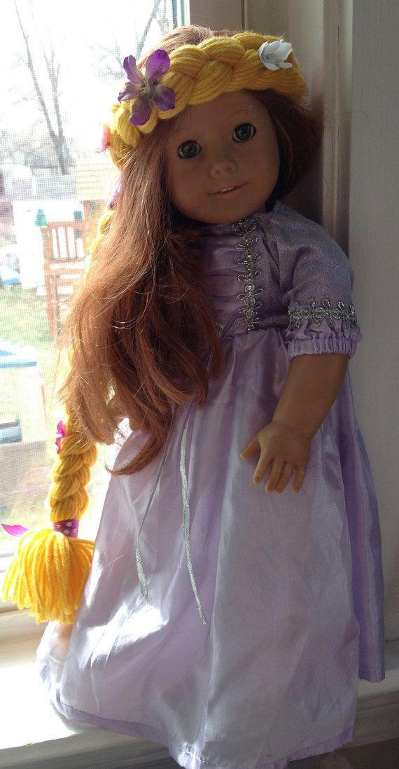 Rapunzel Hair for American Girl Doll SALE by RileyJInspired, $8.00