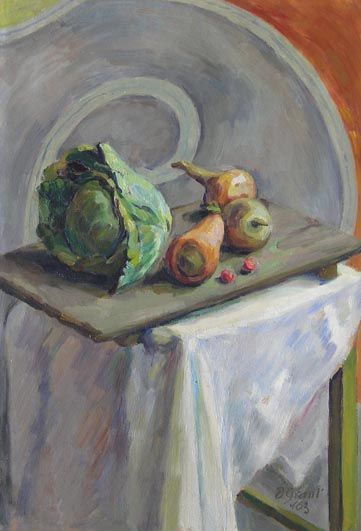 ✽ duncan grant - 'still life with vegetables' - louisekosman.com