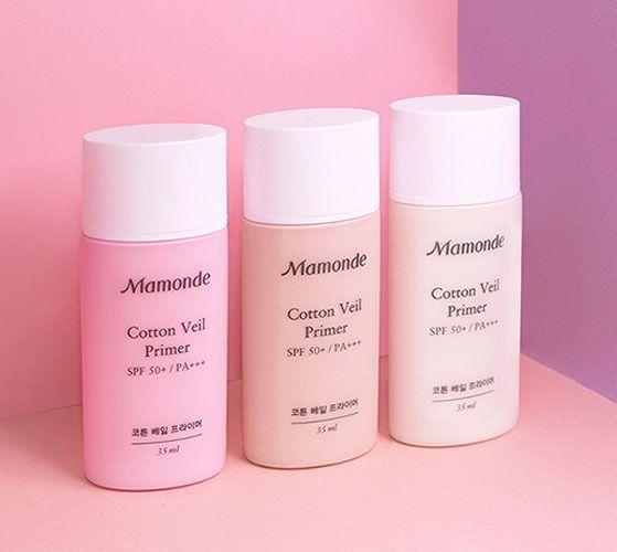 Amore Pacific MAMONDE Cotton Veil Primer SPF50+PA+++ 35ml, Correct Skin Tone #MAMONDE