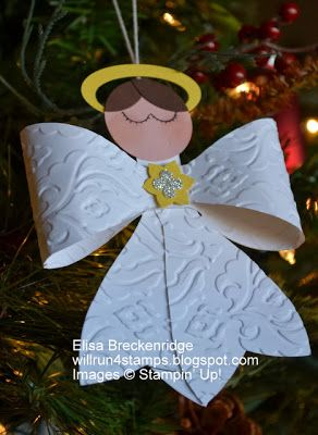 Angel with bow die