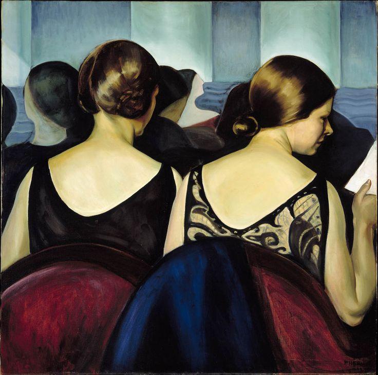 Prudence Heward. Au théâtre 1928. Musée des beaux-arts de Montréal