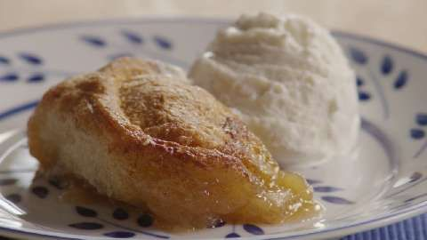 Country Apple Dumplings | Wrap apples in crescent rolls & bake with ...