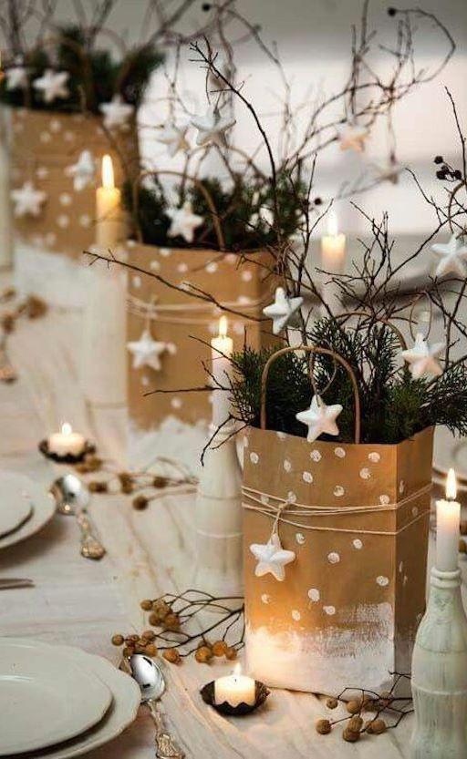 Idea for your Christmas dinner table