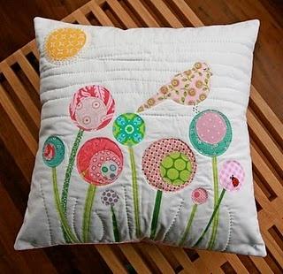 bird pillow- too cute
