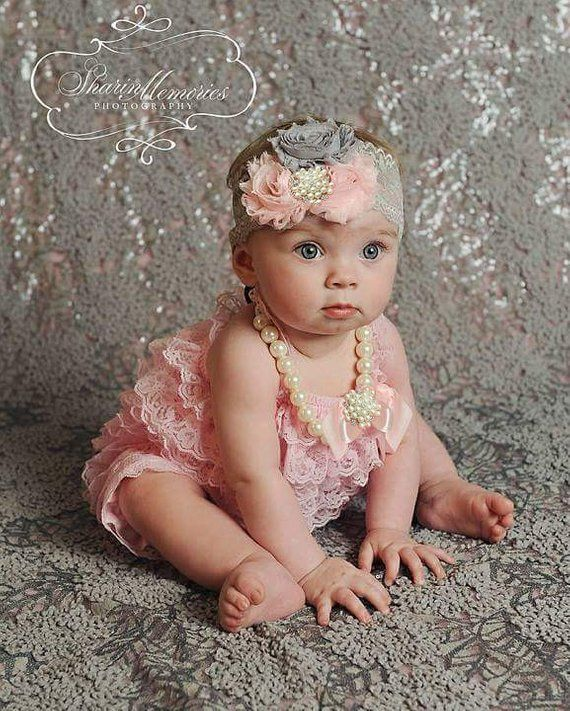 ea081370af3 Lt Pink Lace Romper~Baby Lace Romper~Lace Romper Newborn~Coming Home Outfit Newborn  Girl~Cake Smash Outfit Girl~1st Birthday Girl!