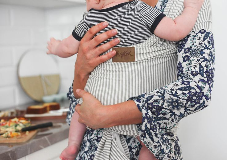Grey Stripe - Chekoh Baby Carriers