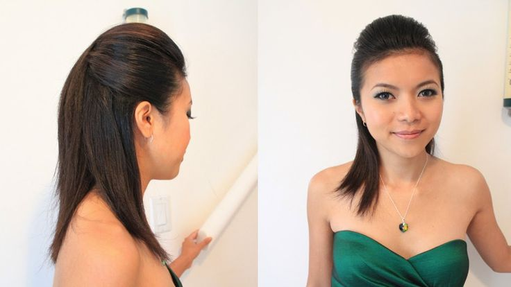 Sleek Pompadour Hairstyle for Short Medium Long Hair Tutorial