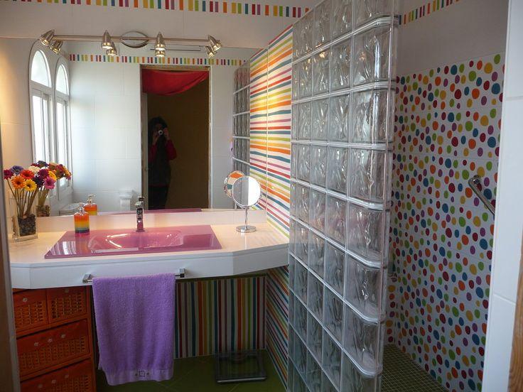 48 best ar de la prada deco images on pinterest | prada, toilet ... - Azulejos Bano Agatha Ruiz Dela Prada