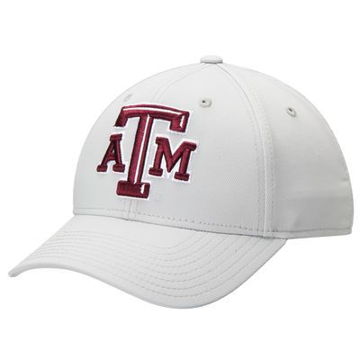 Texas A&M Aggies adidas Basic Structured climalite Adjustable Hat - Gray