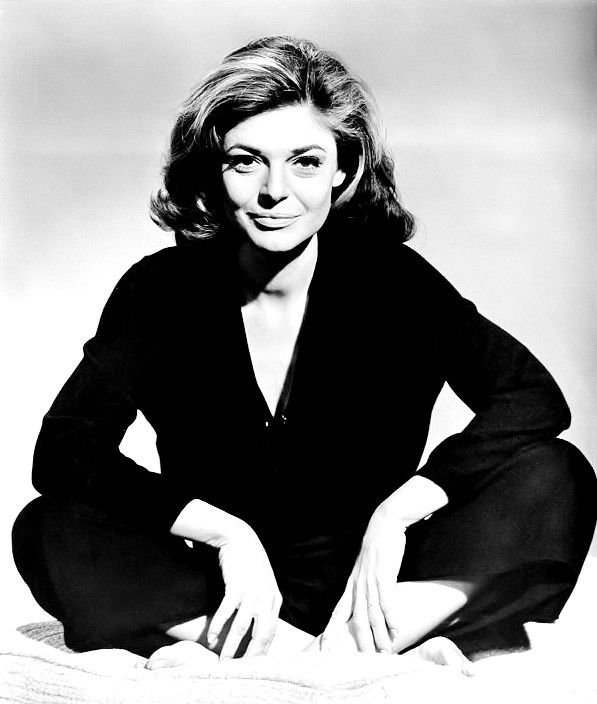 "Anne Bancroft, publicity portrait for ""The Graduate"", 1967. """