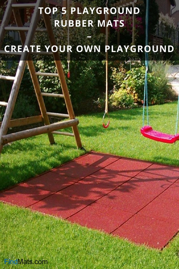 Prime 5 Playground Rubber Mats – Create Your Personal Playground From FindMats.com