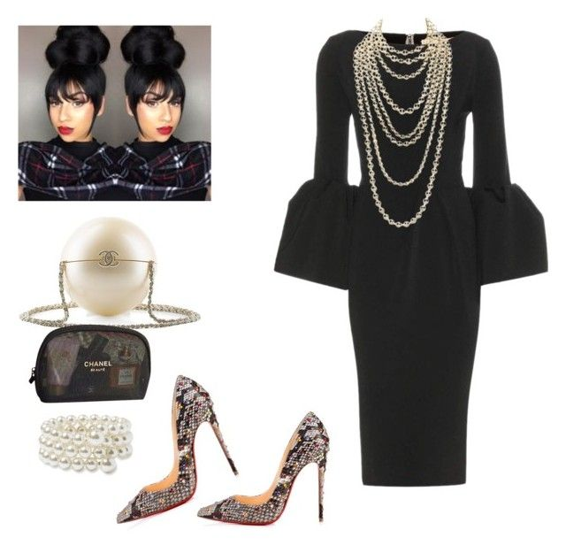 """State Meeting!!!!"" by cogic-fashion on Polyvore featuring Roksanda, Chanel, Retrò, Prada, Christian Louboutin and Nordstrom"
