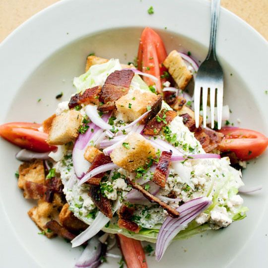 15 Cold Salad Dinner Recipes: Blue Chee, Wedges Salad, Salad Recipes, Diners Recipes, Salad Ideas, Wedge Salad, Summer Salad, Cold Salad, Suppers Recipes