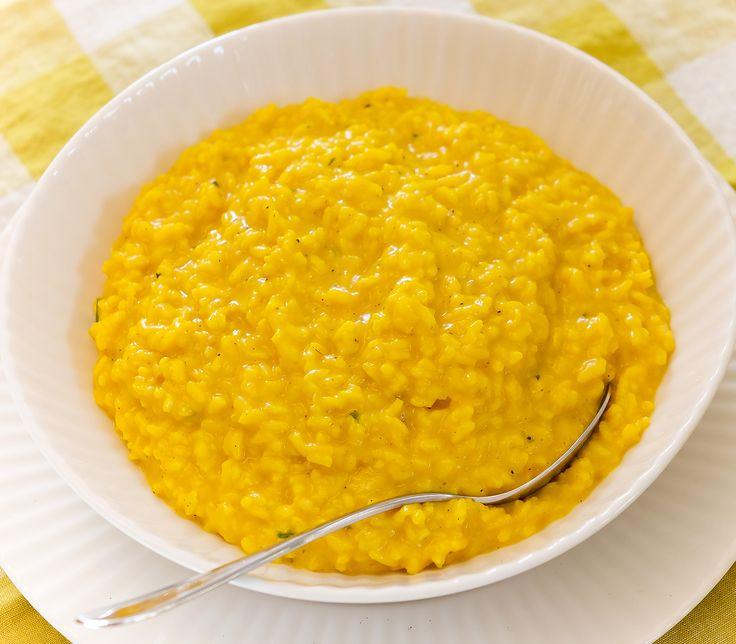 Ein Klassiker ist das Safran-Risotto, das sich auch als Beilage zu einem Gericht gut vorbereiten lässt.