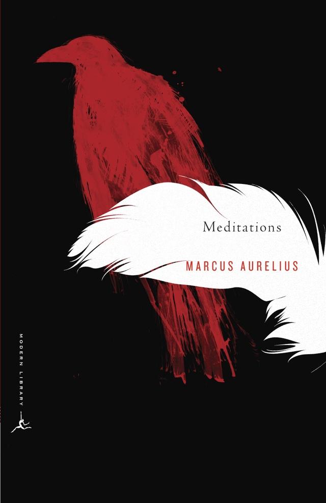 Meditations - Marcus Aurelius - cover design by Emily Mahon