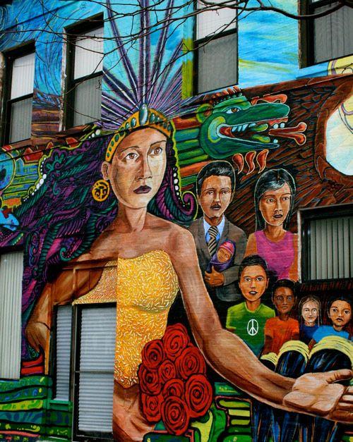 Latino Mural Art in Pilsen, Chicago