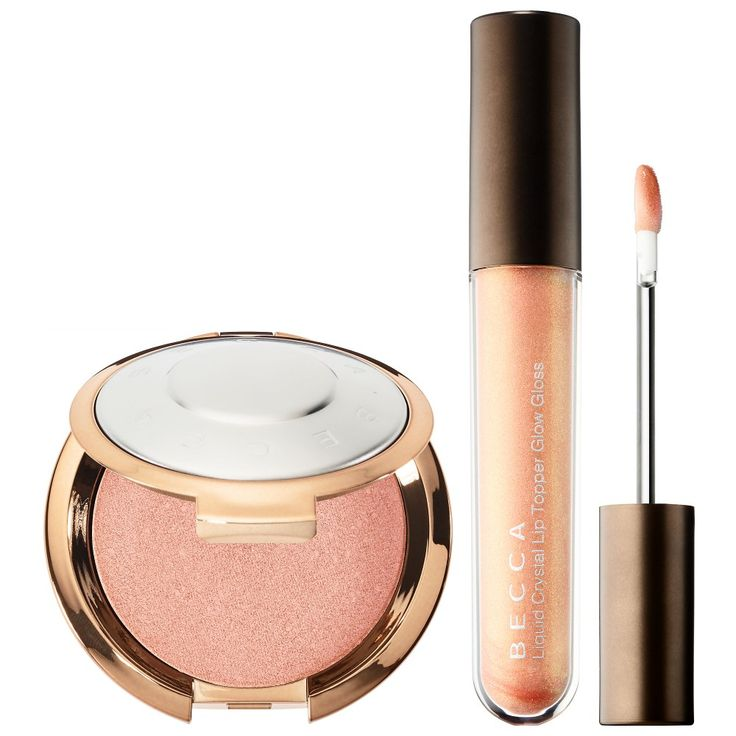Becca Champagne Dream Light Chaser highlighter & lip duo