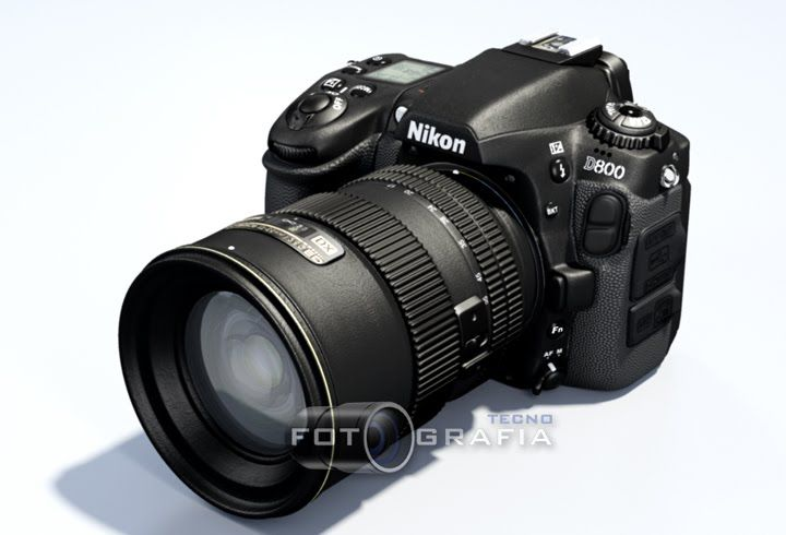 Design Concept/ new Nikon D800 design concept features wireless screen, replaceable rubber cover that fits the shape of your hand, rotating grip for video recording that simulates holding a camcorder.