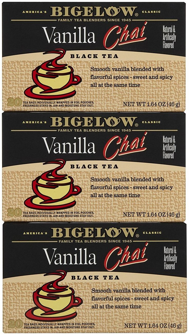 Bigelow Vanilla Chai Tea Bags - 20 ct - 3 pk >>> Want additional info? Click on the image. (This is an affiliate link) #ChaiTea