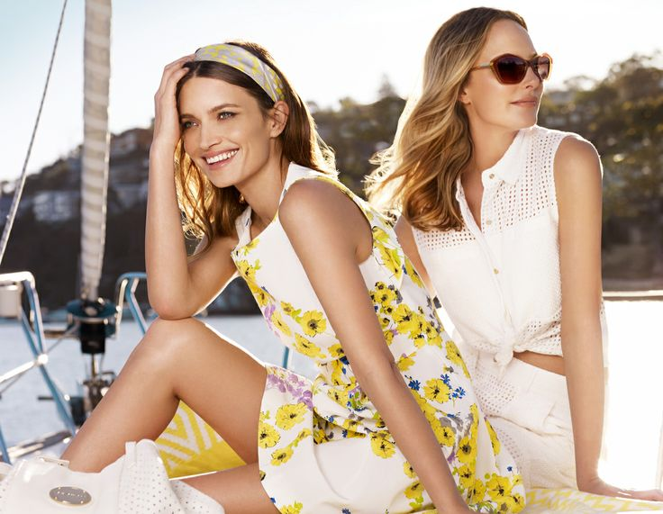 Photographer Bronwyn Kidd shoots the Spring/Summer campaign for major shopping centre Chatswood Chase