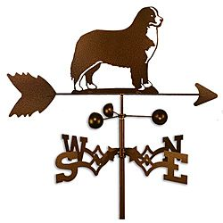 Handmade Bernese Mountain Dog Copper Weathervane | Overstock.com Shopping - Great Deals on Garden Accents