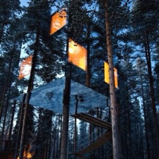 invisible tree house hotel. invisible treehouse | { wherever there is light } pinterest treehouse, treehouses and amazing tree house hotel