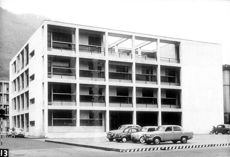 Das ber hmte casa del fascio von giuseppe terragni 1932 in for Giuseppe terragni casa del fascio