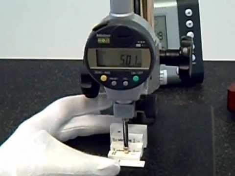 Calibración Comparador Mitutoyo - DCL metrología