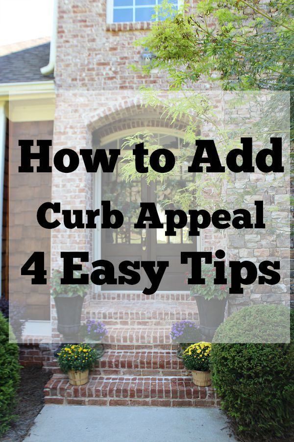 245 best curb appeal images on pinterest curb appeal front doors and home ideas - Home selling four diy tricks to maximize the curb appeal ...