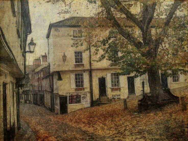 https://flic.kr/p/cGjyiY | Elm Hill, Norwich in November