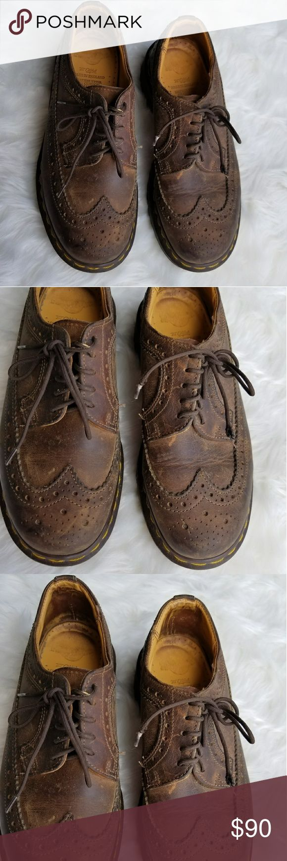 Dr. Martens Women's Vintage Oxford Boots Worn just a few times. Excellent condition. Dr. Martens Women's Vintage Oxford Lace Up Boots. Heavy. I'll take care of extra POSTAGE cost. Dr. Martens Shoes Lace Up Boots