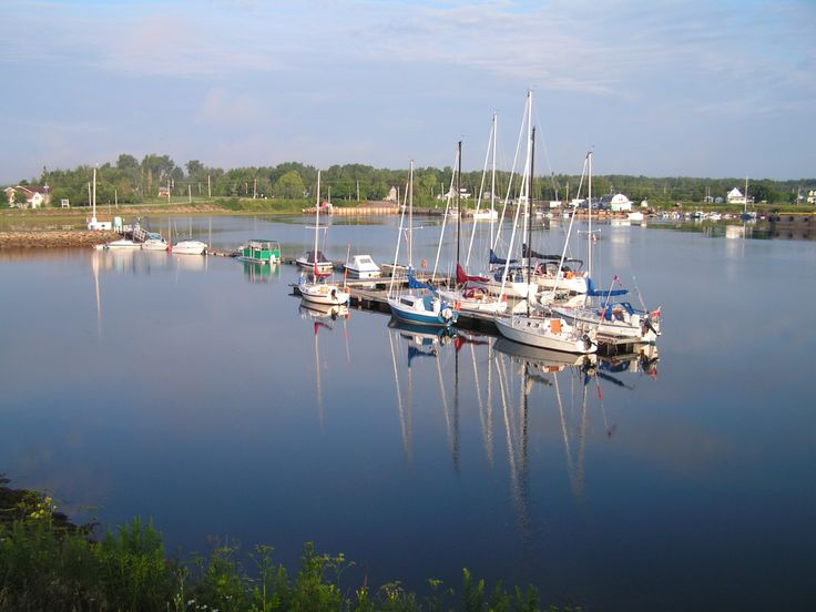 We stopped and shopped in Pugwash Harbor, Nova Scotia on our drive to Prince Edward Island via New Brunswick.