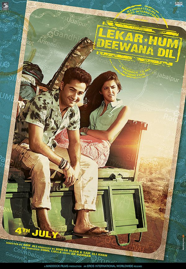 Lekar Hum Deewana Dil (2014) Movie Poster No. 2