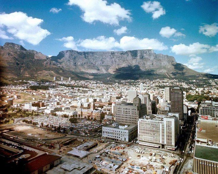 Cape Town station under construction