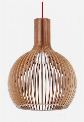 Gaz-Timber Pendant