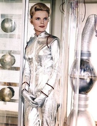 Marta Kristen playing Judy Robinson, eldest daughter of Dr. Maureen Robinson in Lost in Space (1965-1968 TV series)