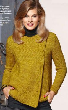 Жакеты, пуловеры, свитеры, пончо-накидки, джемперы | Вязание для Вас
