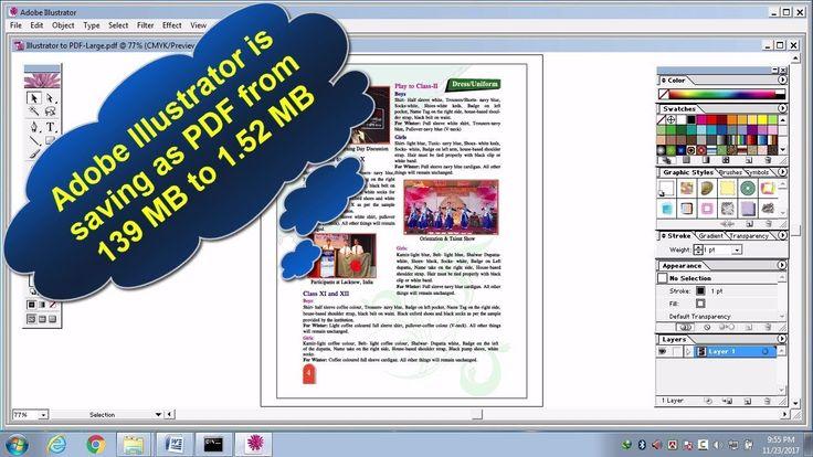 Photoshop save layers as pdf